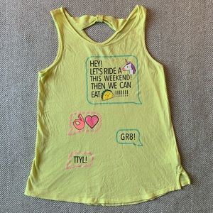 SO Shirts & Tops - SO Brand Girl's Cutest Tank, size 14